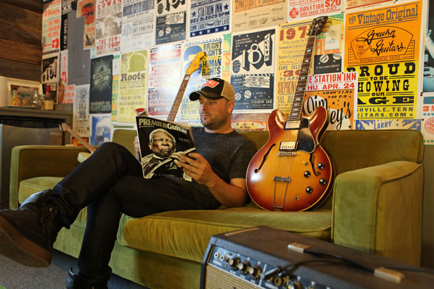 Guthrie's Rig Featured in Premiere Guitar